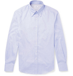 Brunello Cucinelli Slim-Fit Button-Down Collar Woven Cotton Shirt
