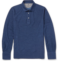 Brunello Cucinelli Cotton-Piqué Polo Shirt