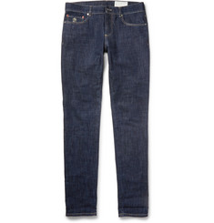 Brunello Cucinelli Slim-Fit Lightweight Dry-Denim Jeans
