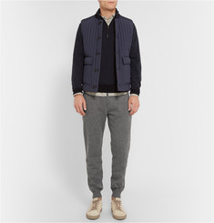 Brunello Cucinelli Cashmere-Blend Sweatpants