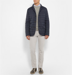 Brunello Cucinelli Slim-Fit Quilted Shell Jacket
