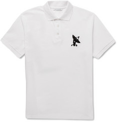 J.W.Anderson Embroidered Cotton-Piqué Polo Shirt