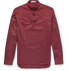 J.W.Anderson Stand-Collar Cotton-Twill Shirt