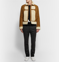 J.W.Anderson Panelled Shearling Jacket
