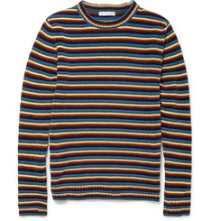 J.W.Anderson Slim-Fit Striped Chenille Sweater