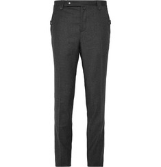 Lanvin Slim-Fit Wool and Cashmere-Blend Flannel Trousers