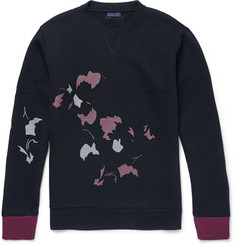 Lanvin Abstract Floral-Print Cotton-Blend Sweatshirt
