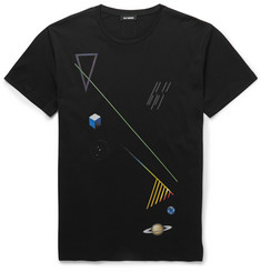 Raf Simons Graphic-Print Cotton-Jersey T-Shirt