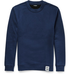 Raf Simons Cotton-Blend Jersey Sweatshirt