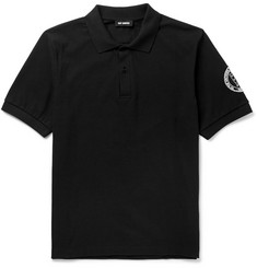 Raf Simons Cotton-Piqué Polo Shirt