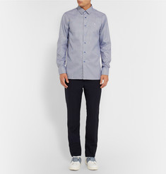 Raf Simons Slim-Fit Houndstooth Cotton-Poplin Shirt