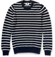 NN.07 Mike Striped Wool Sweater