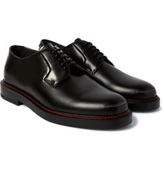 Raf Simons Contrast-Stitched Leather Derby Shoes