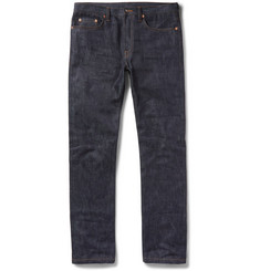 Valentino - Slim-Fit Selvedge Denim Jeans
