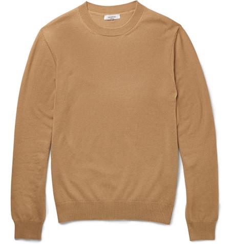 Valentino Cashmere Sweater In Brown