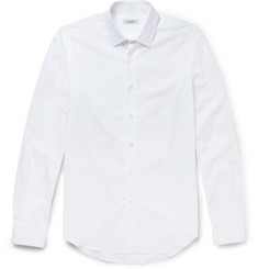 Valentino Slim-Fit Cotton-Poplin Shirt