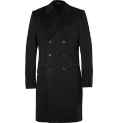 Dolce & Gabbana Double-Breasted Wool and Cashmere-Blend Overcoat