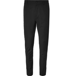 Dolce & Gabbana Slim-Fit Stretch-Wool and Cotton-Blend Trousers