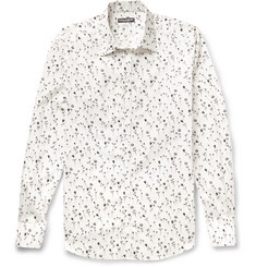 Dolce & Gabbana Slim-Fit Floral-Print Cotton Shirt