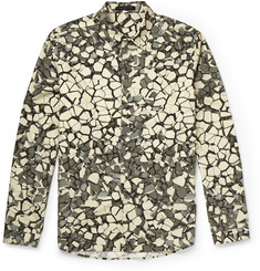 Christopher Kane Rubble Slim-Fit Printed Cotton Shirt