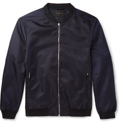 Christopher Kane Satin-Shell Bomber Jacket