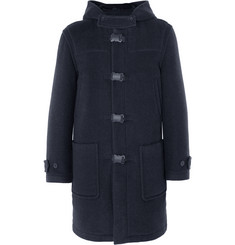 Christopher Kane Wool and Alpaca-Blend Duffle Coat