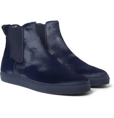Christopher Kane Calf Hair High-Top Sneakers