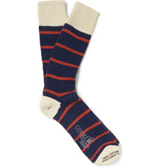 Kingsman Corgi Striped Cotton Socks
