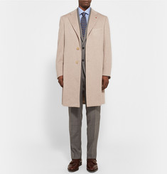 Isaia Water-Repellent AquaCashmere Overcoat
