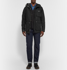 Freemans Sporting Club Isle Of Man Waxed Cotton-Canvas Hooded Parka