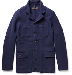 Freemans Sporting Club Wool-Flannel Shirt Jacket