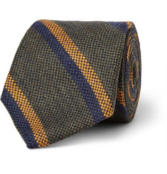 Freemans Sporting Club Striped Woven Wool Tie