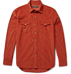 Freemans Sporting Club Cotton-Corduroy Western Shirt