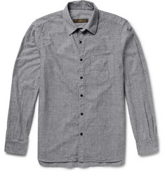 Freemans Sporting Club Cotton-Chambray Shirt