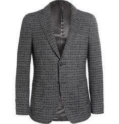 Officine Generale Houndstooth Wool-Flannel Blazer