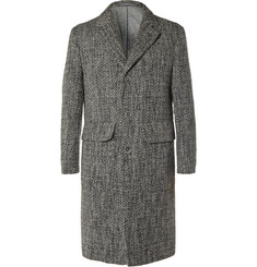 Officine Generale Textured Wool Overcoat