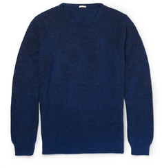 Massimo Alba Watercolour-Dyed Cashmere and Alpaca-Blend Sweater