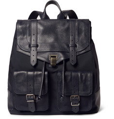 Proenza Schouler PS1 XL Canvas and Leather Backpack