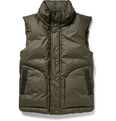 Hunter Original Down-Filled Coated Shell Gilet