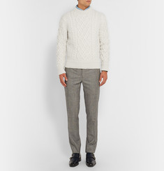 Tom Ford Cable-Knit Merino Wool and Cashmere-Blend Sweater