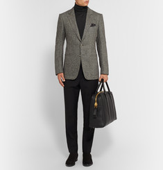 Tom Ford Fine-Knit Cashmere and Silk-Blend Rollneck Sweater
