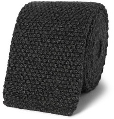 Tom Ford Knitted Silk and Cashmere-Blend Tie