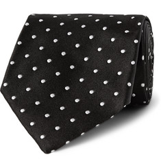 Tom Ford Polka-Dot Silk-Twill Tie