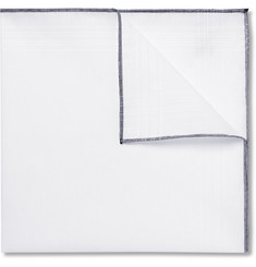 Tom Ford Linen and Cotton-Blend Pocket Square