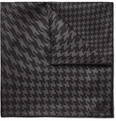 TOM FORD - Houndstooth-Print Silk-Twill Pocket Square