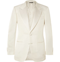 Tom Ford James Bond Slim-Fit Silk-Blend Tuxedo Jacket