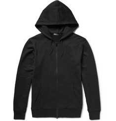 Y-3 Zip-Through Printed Cotton-Jersey Hoodie