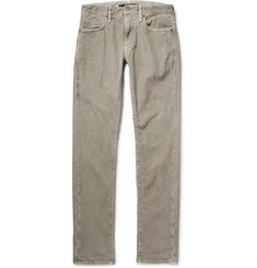 Incotex Slim-Fit Herringbone Stretch Cotton-Blend Corduroy Trousers