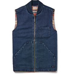 Faherty Sunset Arrow Reversible Cotton-Canvas Gilet