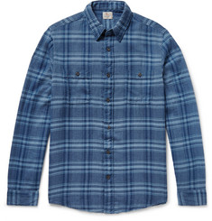 Faherty Belmar Plaid Cotton-Flannel Shirt